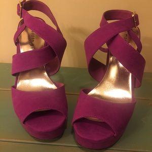 Madden Girl Platform Sandals Heels